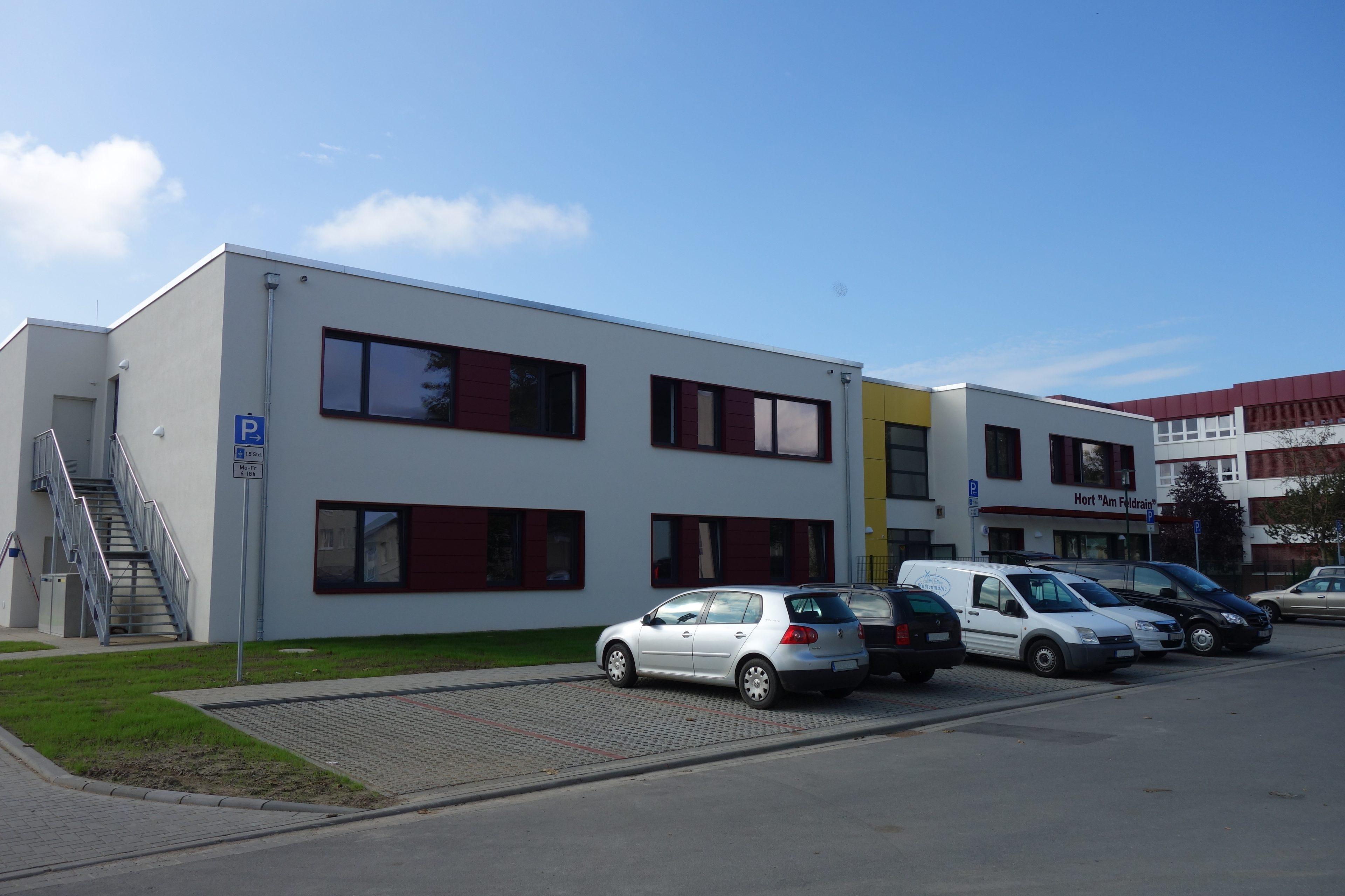 Projekte Neubau Hortgebäude Dummerstorf Stephan-Scheffler GmbH