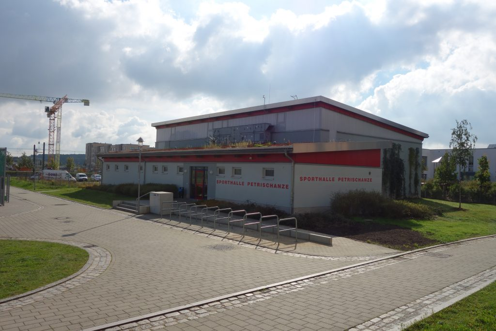 Projekte Neubau Sporthalle Petrischanze 2 Stephan-Scheffler GmbH