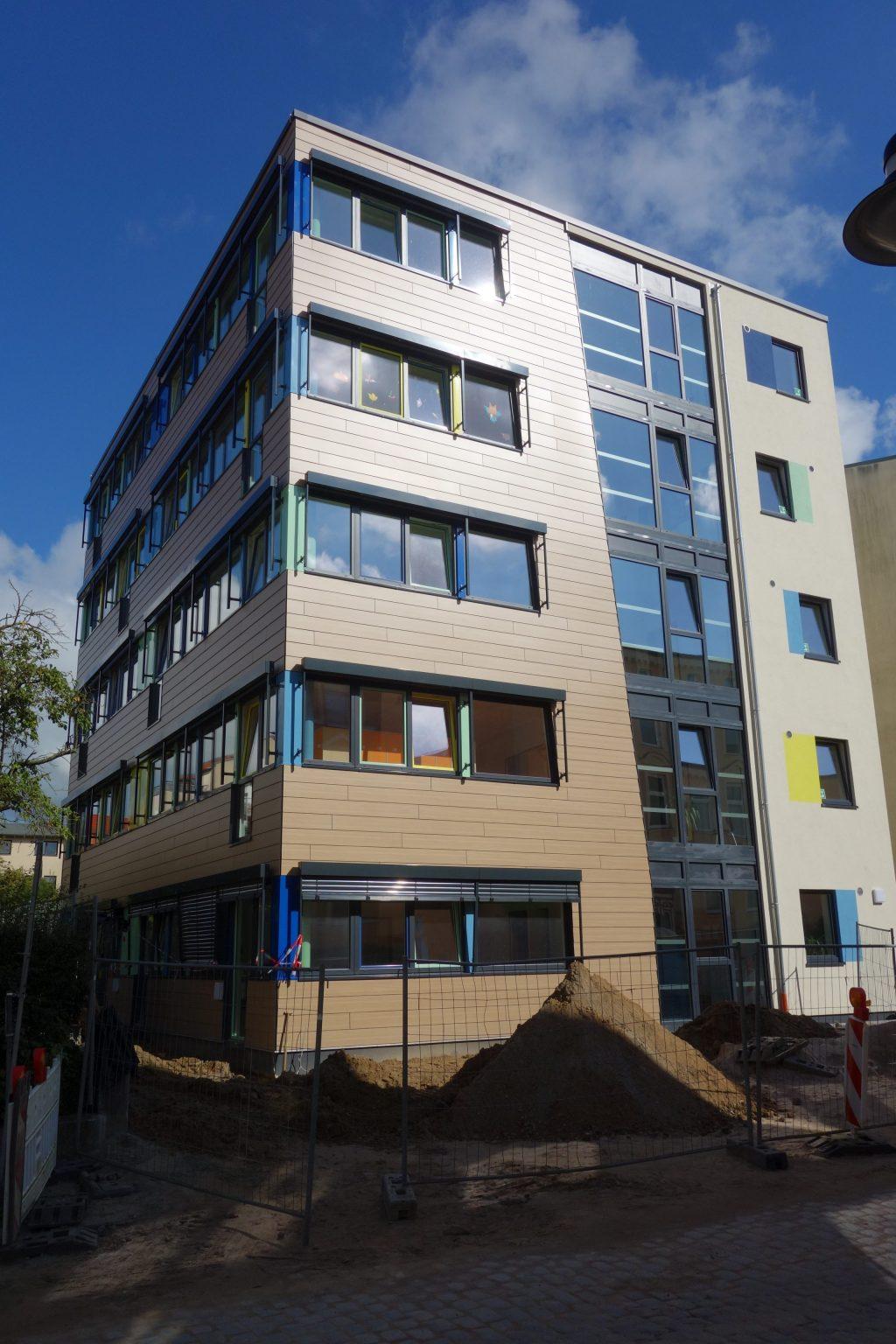 Projekte Neubau Hortgebäude Herderstraße Stephan-Scheffler GmbH